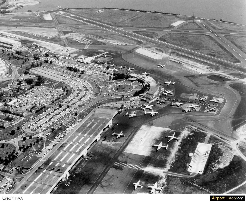 Washington National Airport in 1961