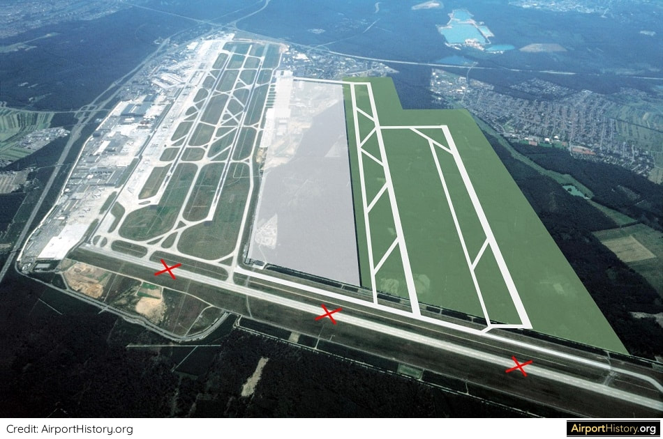 Frankfurt Airport Runway Atlanta Model Impression