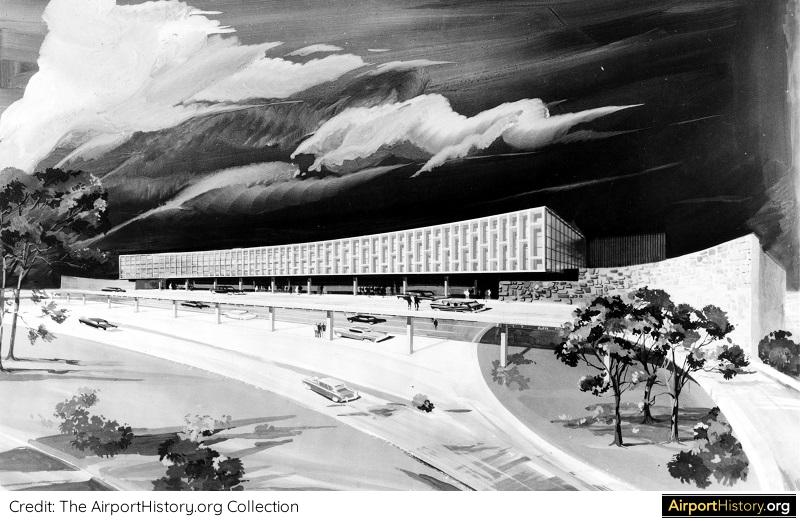 Artist's impression of the American Airlines terminal