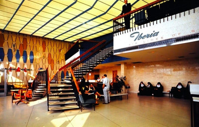 The Iberia departure station in the IAB.