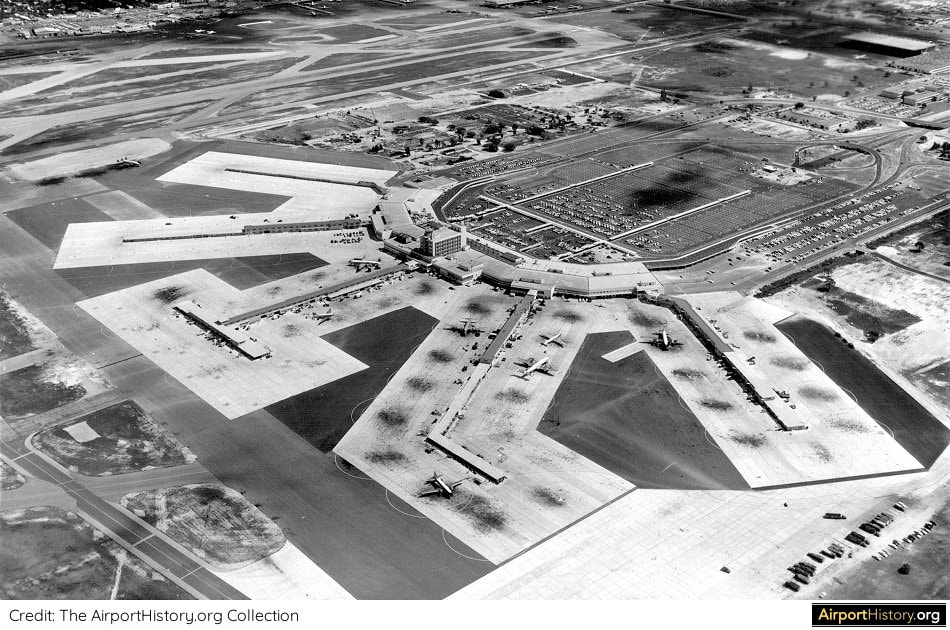 Miami International Airport in 1959