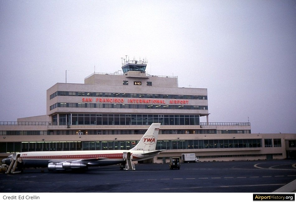 San Francisco Airport in 1963