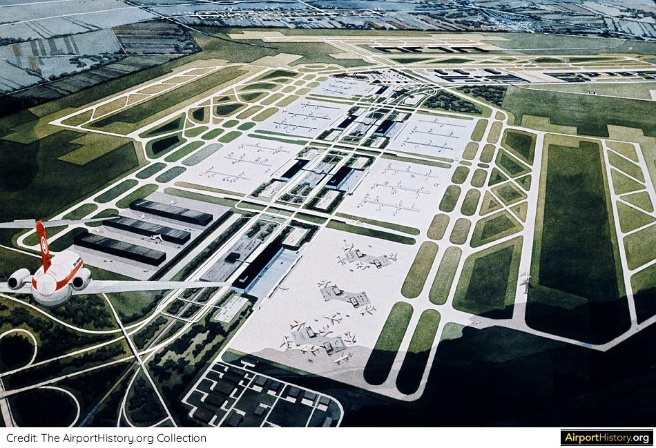 Montreal Mirabel Airport long-term development plan